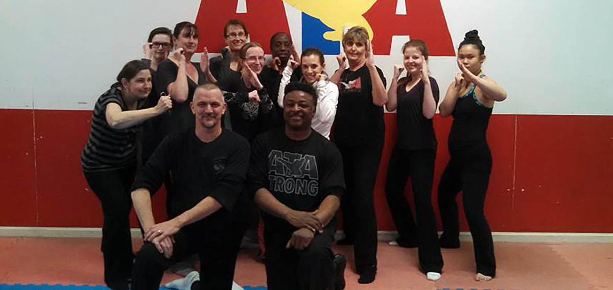 ATA Martial Arts of Sandwich students